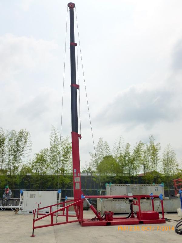 Wireline Mast Prowell Energy